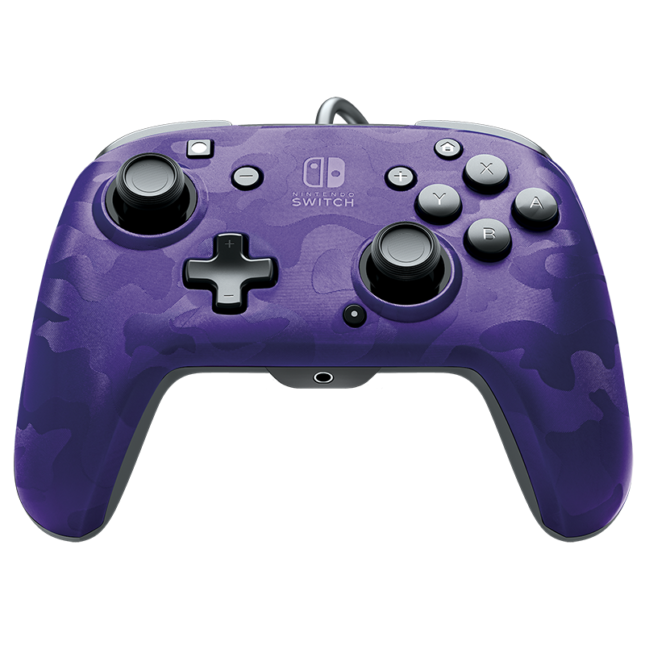 Manette Faceoff Deluxe+ Audio Wired Controller : version violet 1