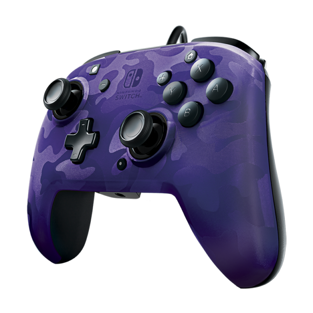 Manette Faceoff Deluxe+ Audio Wired Controller : version violet 2