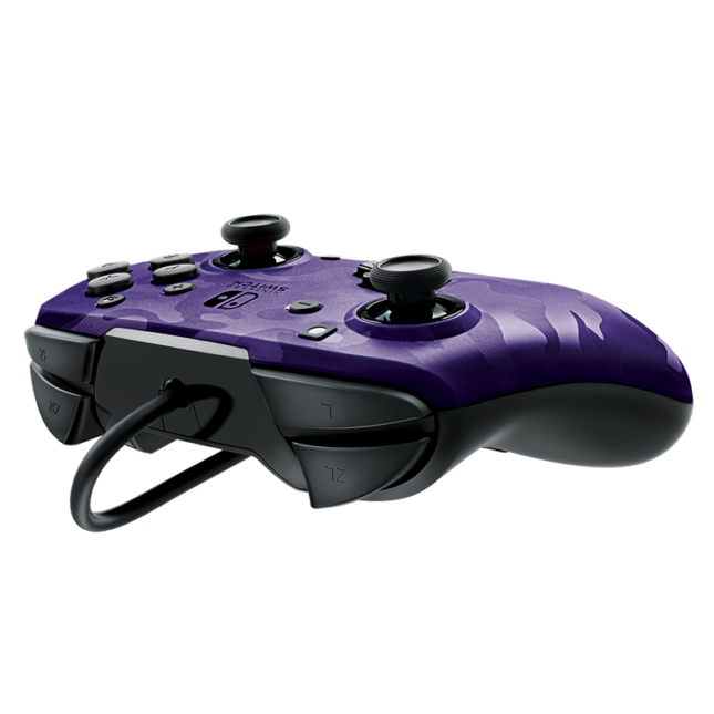 Manette Faceoff Deluxe+ Audio Wired Controller : version violet 3