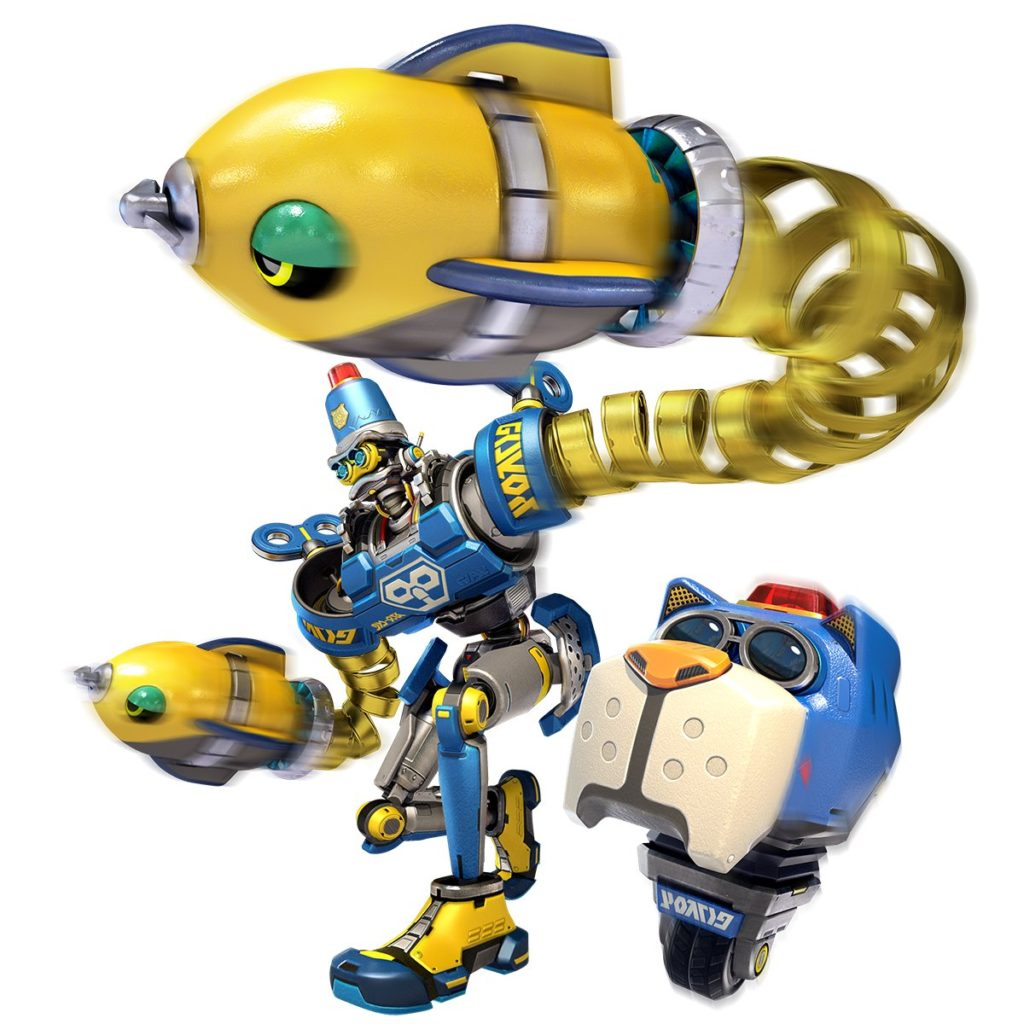 Arms : Byte et Barq