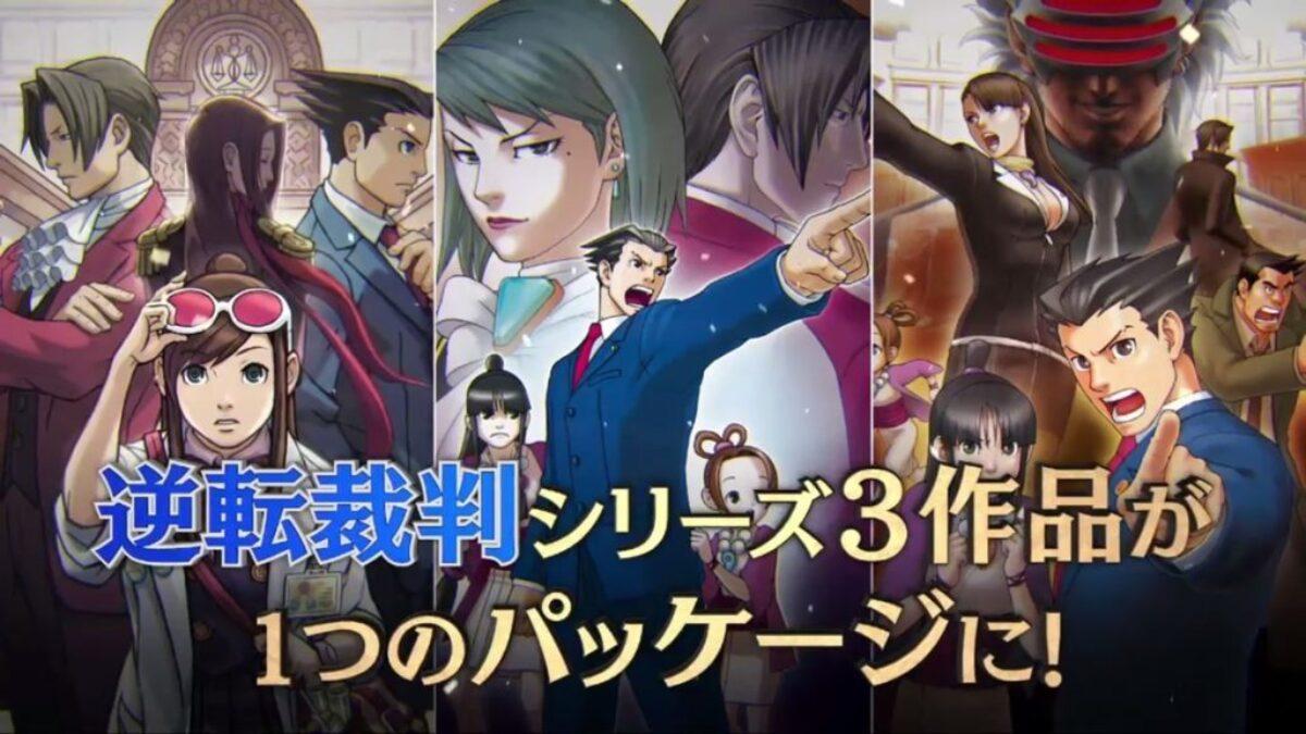 La trilogie Ace Attorney sortira sur Switch