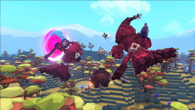 Image du jeu PixARK sur Nintendo Switch : screenshot d'un paysage