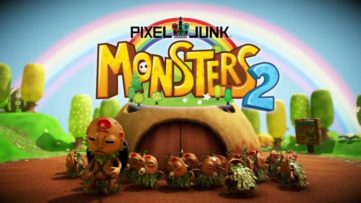 Jeu PixelJunk Monsters 2 sur Nintendo Switch : écran titre