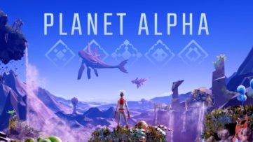 Jeu Planet Alpha sur Nintendo Switch : artwork du jeu