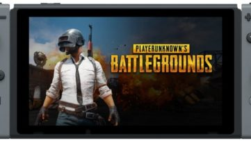 PlayerUnknown's Battlegrounds (PUBG) sur la console hybride Nintendo Switch