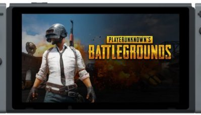 PlayerUnknown's Battlegrounds (PUBG) sur la console hybride Nintendo Switch