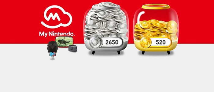 My Nintendo : points Or