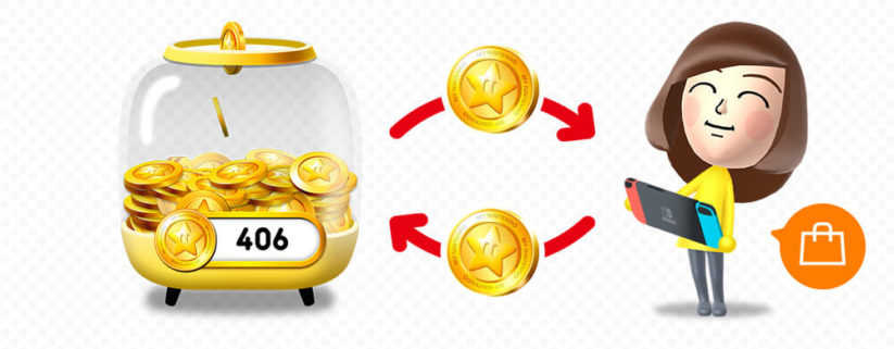 Points My Nintendo : conversion Points Or et euro
