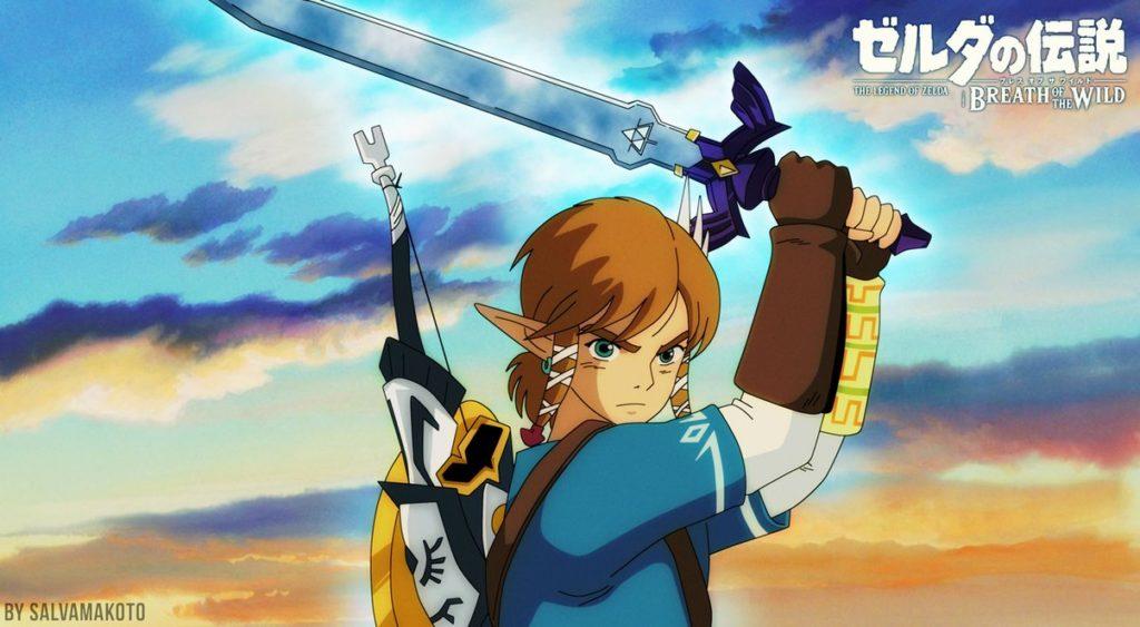 Poisson d'avril 2017 Switch : Hayao Miyazaki adapte Zelda Breath of the Wild au cinéma