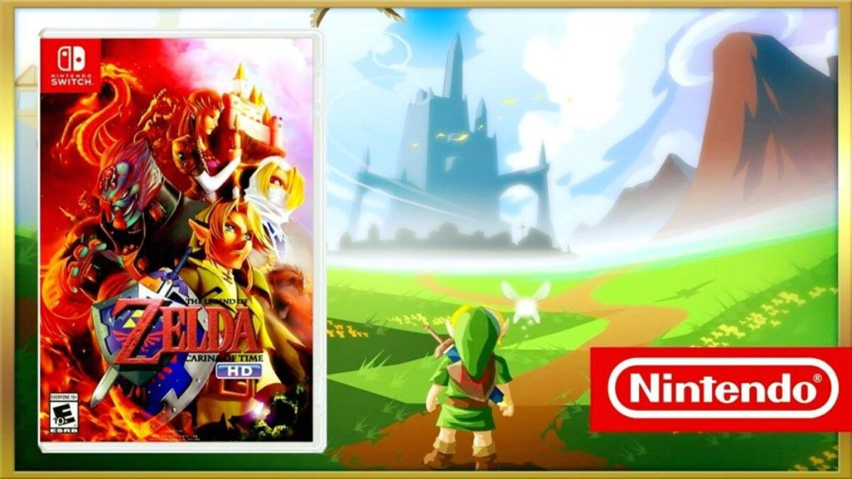 Poisson d'avril 2017 Switch : Ocarina of Time HD