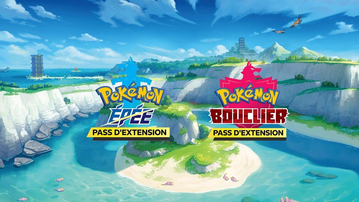 Jeu Pokémon Épée et Pokémon Bouclier : Pass d'Extension artwork