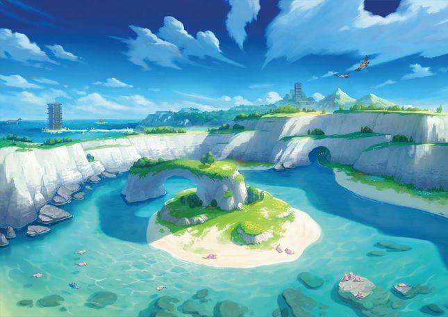 Jeu Pokémon Épée et Pokémon Bouclier : première zone du Pass d'Extension