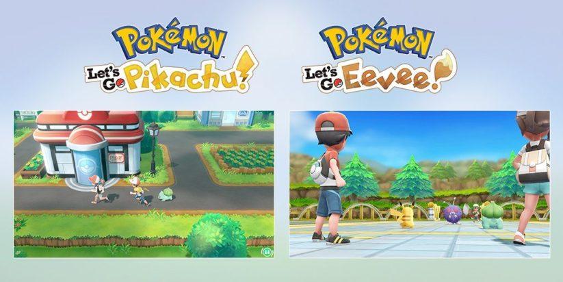Pokémon Let's Go ! annoncé sur Switch pour novembre