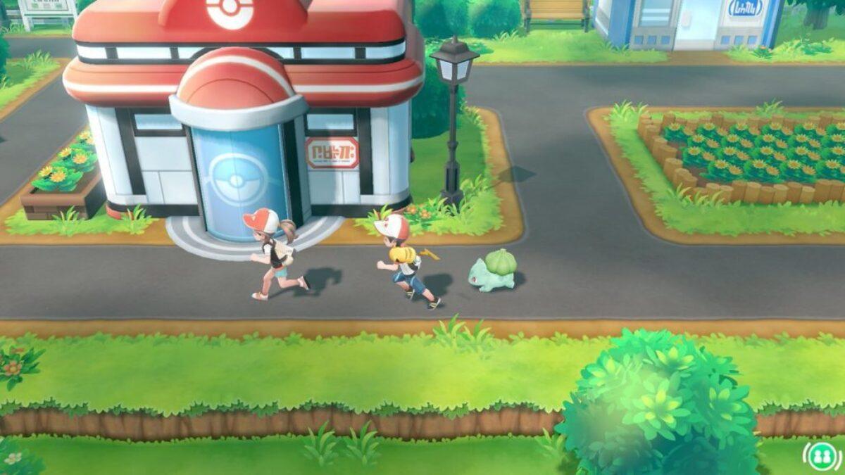 Jeu Pokemon Let's Go sur Nintendo Switch : balade en ville