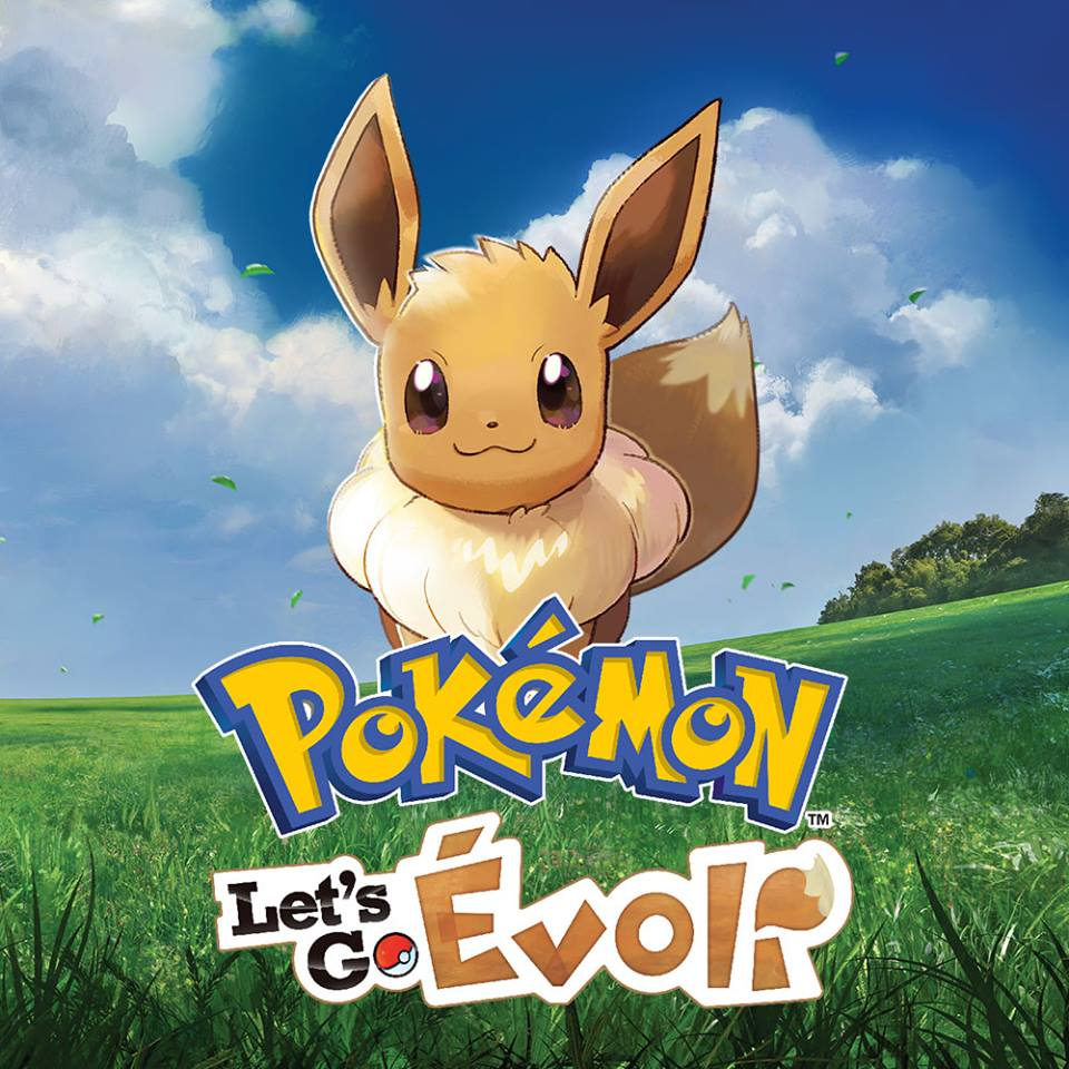 Pokemon Let's Go Evoli (Eevee) sur Nintendo Switch