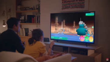 Pokemon Let's Go : Pikachu et Evoli dans la publicité Nintendo Switch My Way