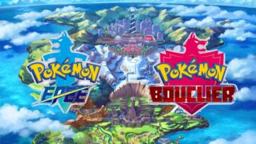 Jeu Pokemon Epée et Pokemon Bouclier sur Nintendo Switch : artwork région de Galar