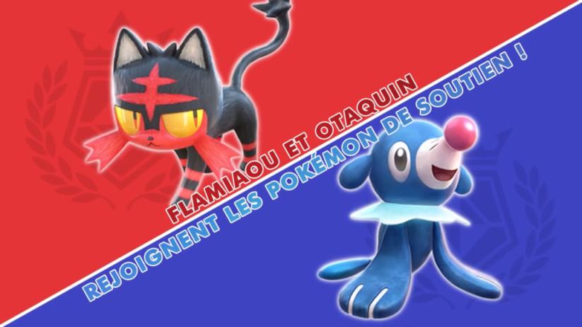 Pokkén Tournament DX Pokémon de soutien