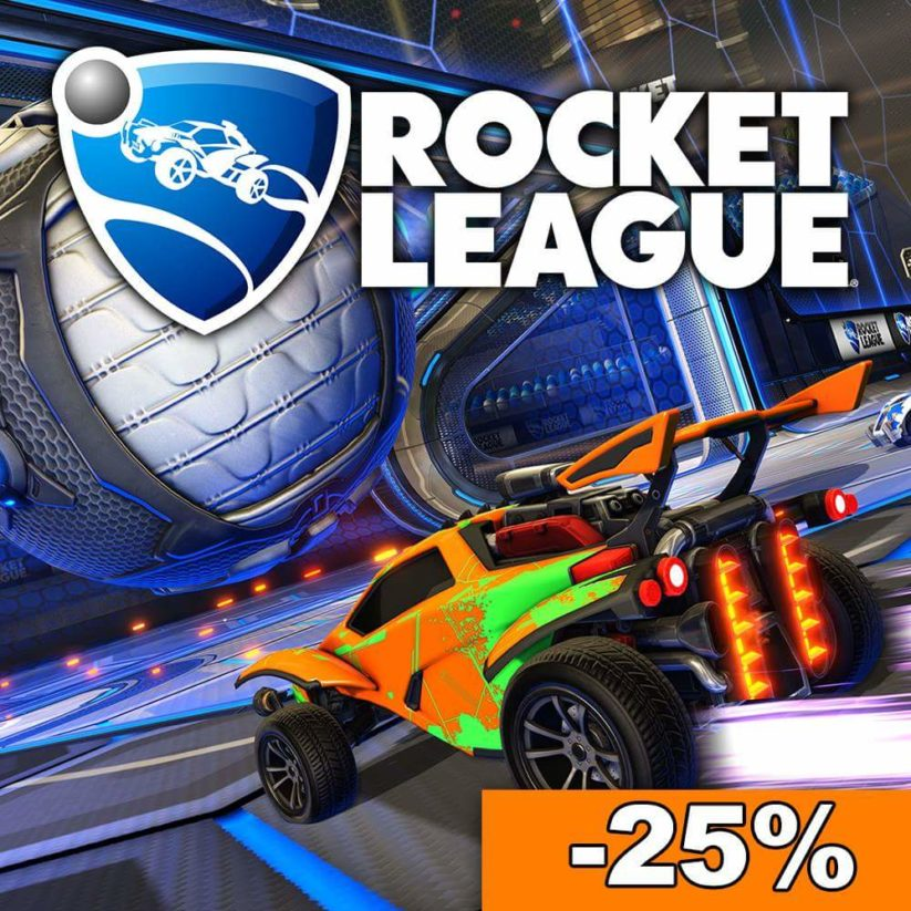 Promotion sur l'eShop Nintendot Switch : -25% pour Rocket League