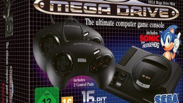 [Précommande retrogaming] Sega Mega Drive Mini pour les 30 ans de la Mega Drive