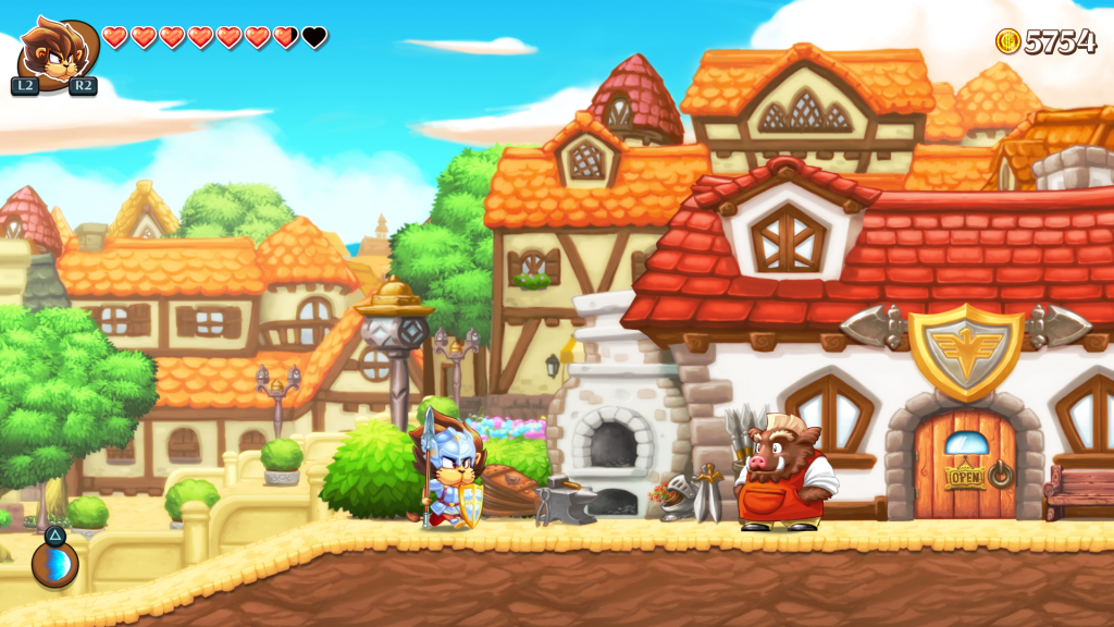Monster Boy and the Cursed Kingdom arrive sur Switch et va dépoter !