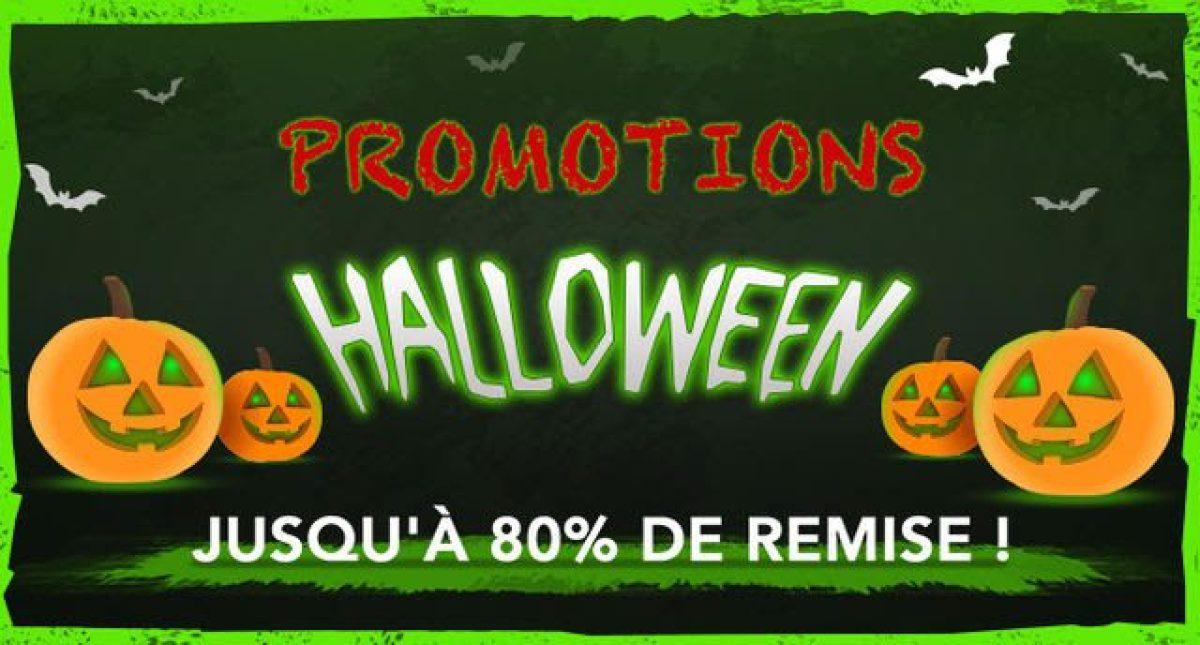 Promotions special Halloween 2017 sur l'eshop de la Nintendo Switch