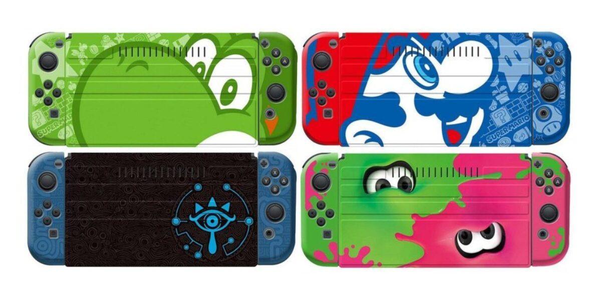 Protector Set pour la Nintendo Switch : présentation des quatre modèles
