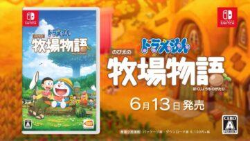 Nouvelle publicité pour Doraemon Story of Seasons