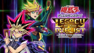 1ère publicité japonaise pour Yu-Gi-Oh! Legacy of the Duelist: Link Evolution