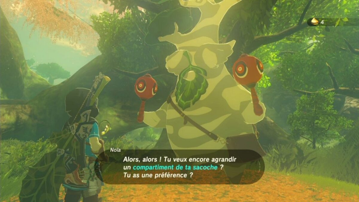 Zelda Breath of the Wild : la récompense merdique pour récupérer 900 Korogu