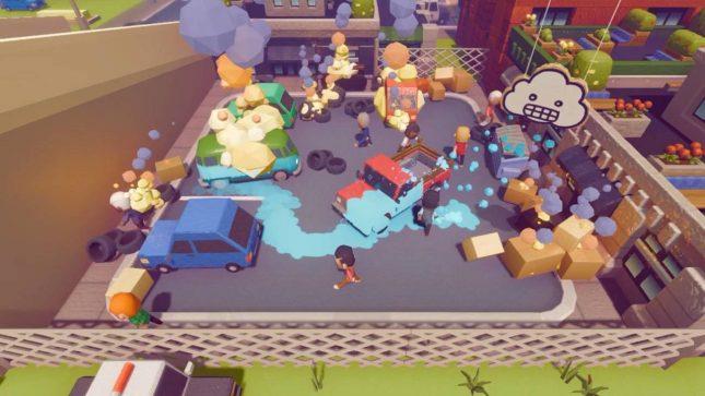 Jeu Rain on Your Parade sur Nintendo Switch - faites pleuvoir