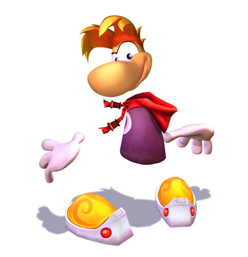 Image du héros Rayman du studio Ubisoft