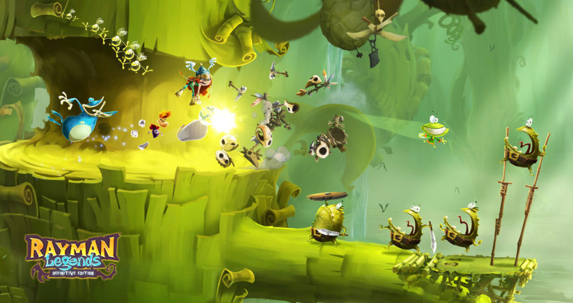Image du jeu Rayman Legends Definitive Edition sur Nintendo Switch
