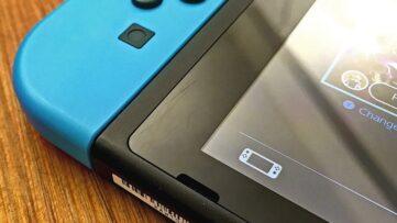 Rayures : l'écran de la console Switch se raye à cause du dock