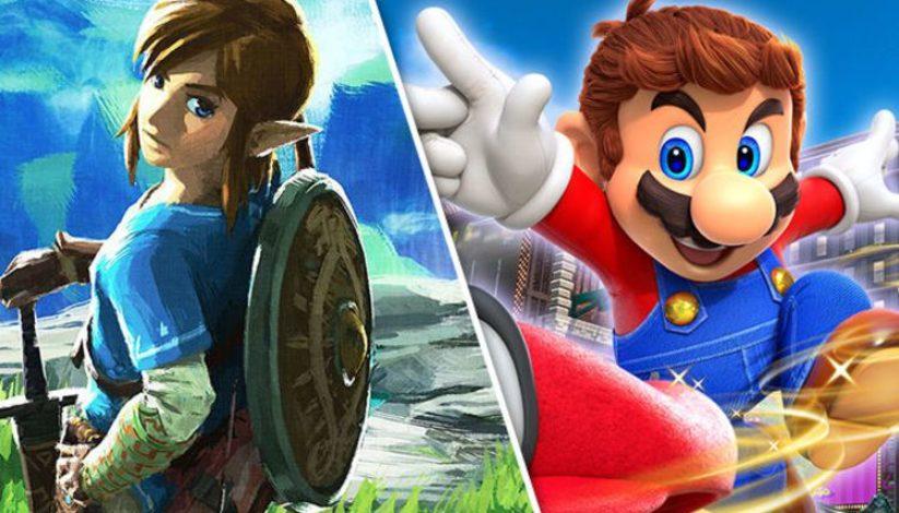 The Legend of Zelda : Breath of The Wild et Super Mario Odyssey encore récompensés