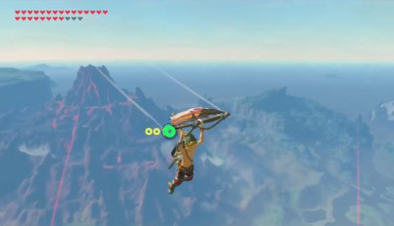 Grâce à l'aimant et un brin d'ingéniosité, il parcourt toute la map en paravoile dans Zelda Breath of the Wild
