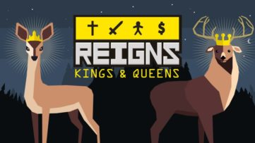 Reigns: Kings & Queens sortira sur Switch à la fin du mois