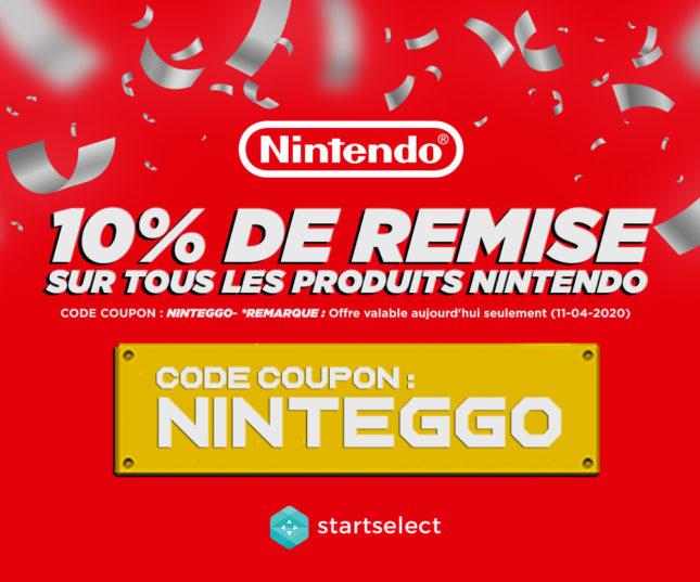[Bon plan Pâques] -10% sur les produits Nintendo