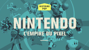 Replay de Nintendo, l'empire du pixel : émission Pop Up d'Audrey Pulvar sur C8