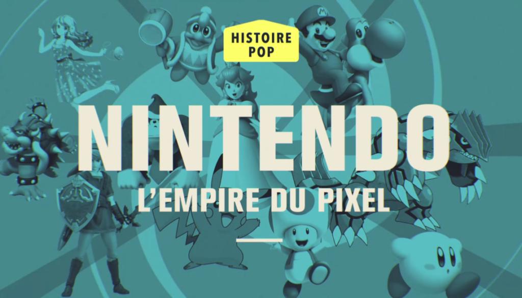 Replay de Nintendo, l'empire du pixel : émission Pop Up d'Audrey Pulvar sur C8