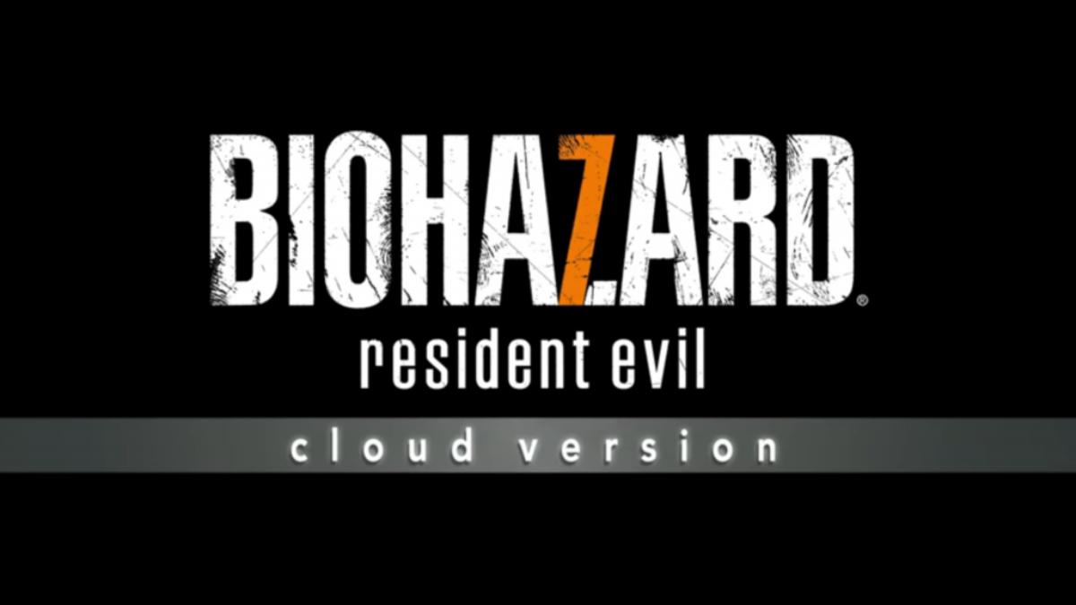 Jeu Resident Evil 7 Biohazard sur Nintendo Switch : Titre d'annonce de la version Cloud
