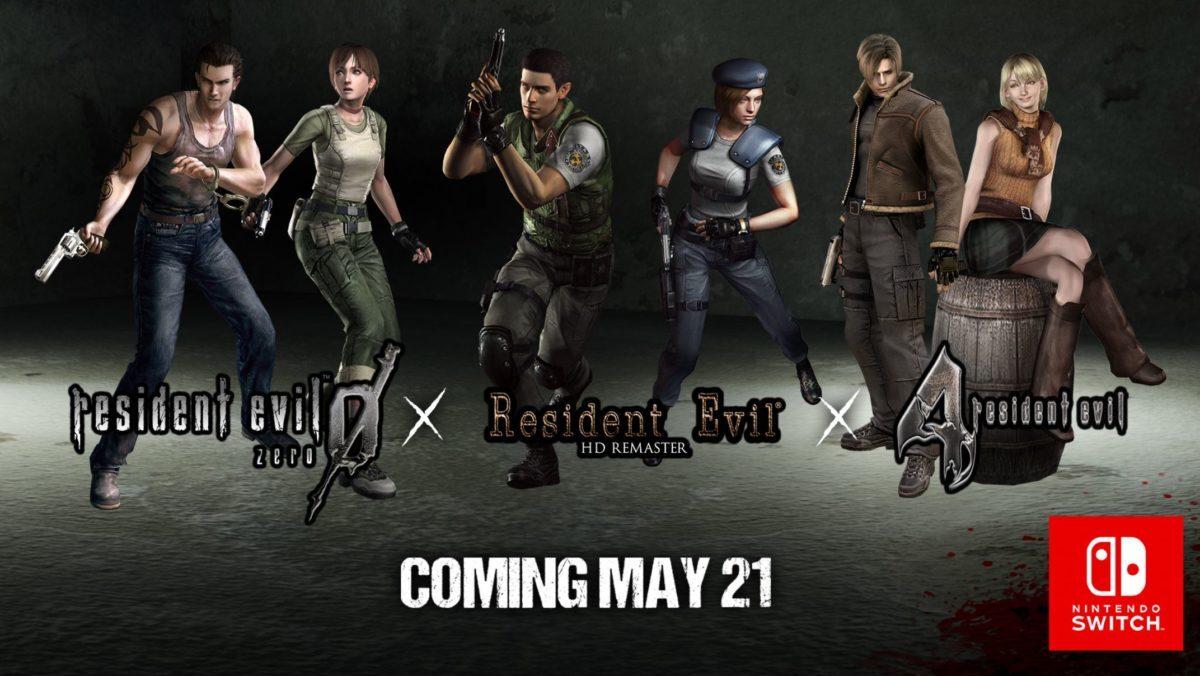 Découvrez les trailers de lancements de Resident Evil, Resident Evil Zero et Resident Evil 4