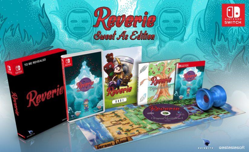 Contenu de l'édition limitée Reverie: Sweet As Edition sur Nintendo Switch