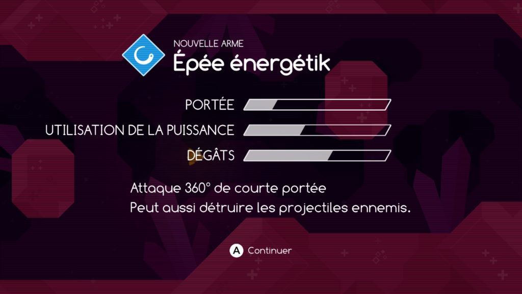 Graceful Explosion Machine : épée énergétik