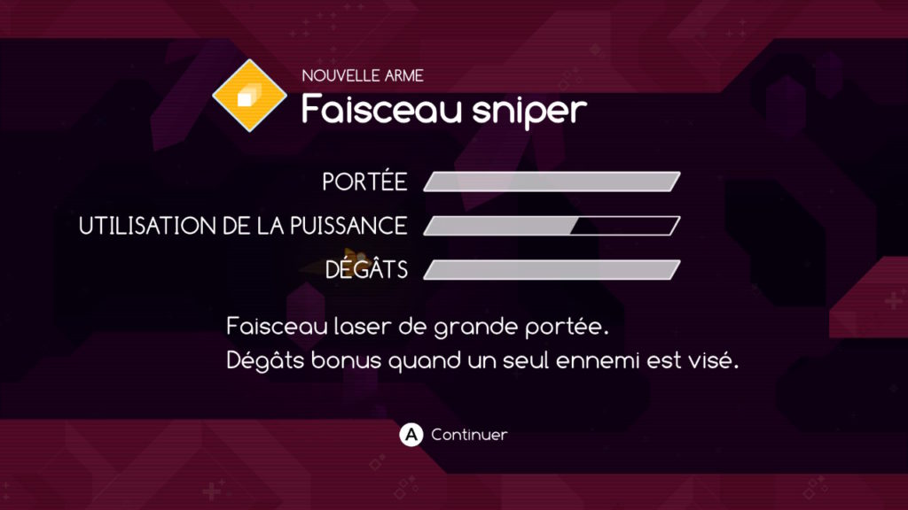 Graceful Explosion Machine : faisceau sniper