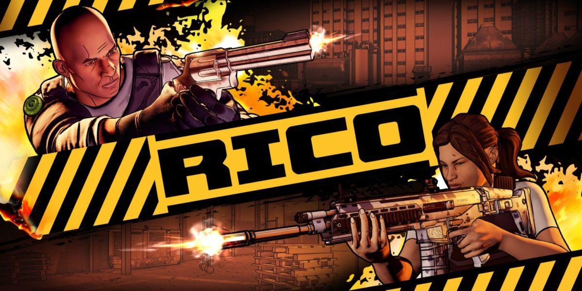 Jeu Rico sur Nintendo Switch : artwork du jeu