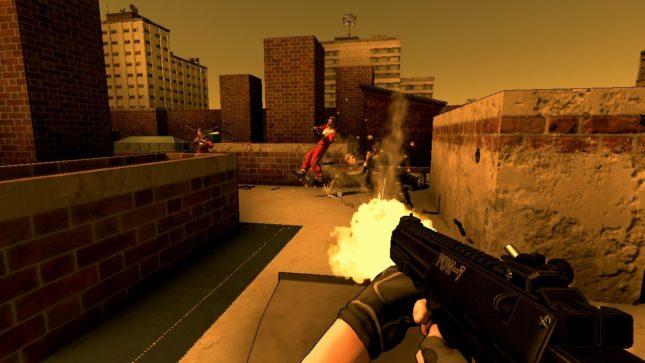 Jeu Rico sur Nintendo Switch : extermination sur le toit