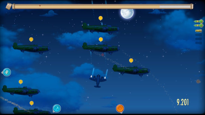 Jeu Rogue Aces sur Nintendo Switch : mission de nuit