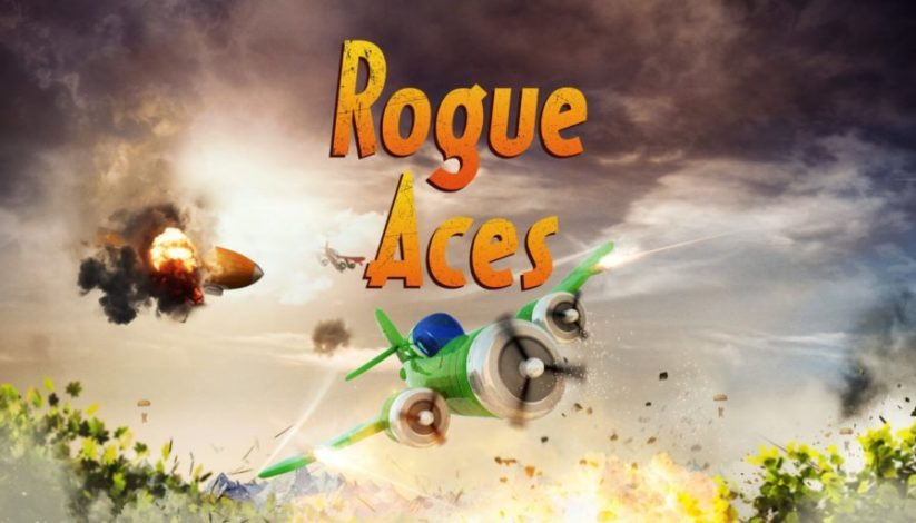 Jeu Rogue Aces sur Nintendo Switch : écran titre