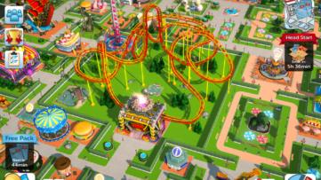Image du jeu Roller Coaster Tycoon sur Nintendo Switch